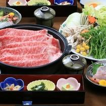 【宴会プラン 夕食例】栃木和牛のすき焼き