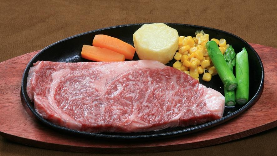 【別注料理】「那須黒毛和牛ステーキ」 一人前3,300円(税込)