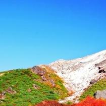 【茶臼岳】標高は1,915m、那須の主峰です