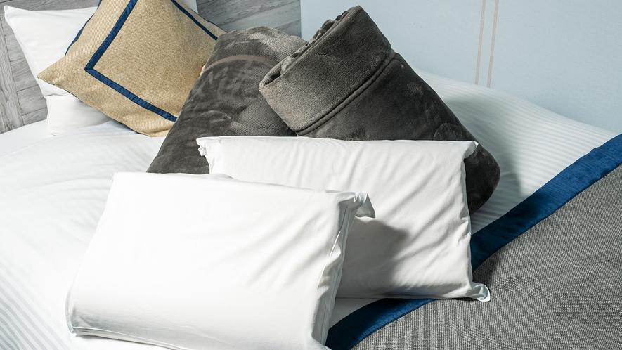貸出低反発枕&毛布