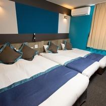 ◆喫煙可◆グループルーム【ベッド3台】22平米