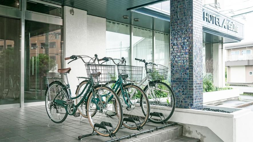 先着3台 レンタル自転車