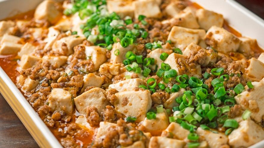 朝食 麻婆豆腐
