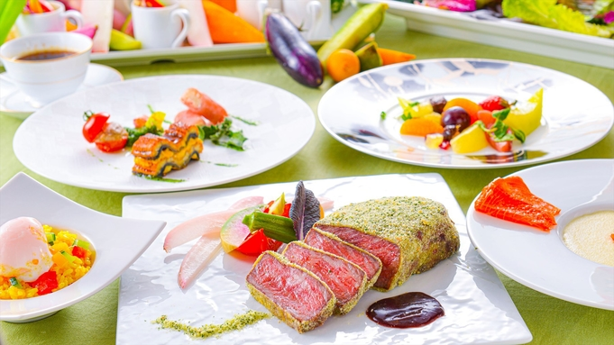 【楽天スーパーSALE】10%OFF 夕食・朝食付(飲み放題)牛ロースハーブ焼きスタンダードコース