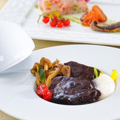 【夕食・朝食付】料理グレードアップ☆肉も魚も味わえる箱根山麓野菜のビュッフェ付おすすめコース 8月迄