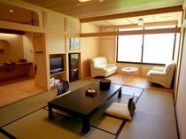 特別室B:和室は落ち着きのある空間です。