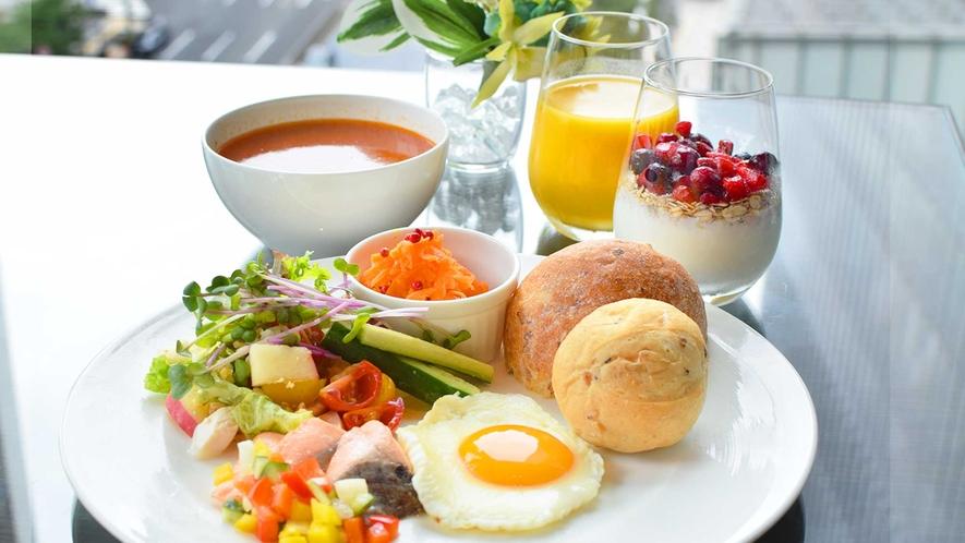 [レジデンスラウンジ]朝食イメージ