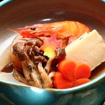 ■山梨産を盛り込んだ旬のお料理一例