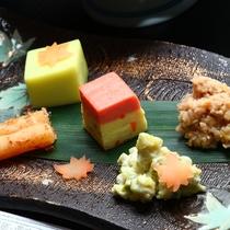 ■色鮮やかなお料理の品々