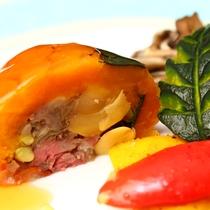 ■季節の創作『肉』料理★全国コンクールで1位を獲得した味をお愉しみ下さい