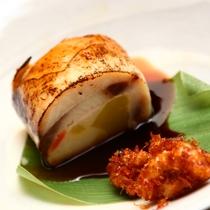 ■鮭紅葉包み-秋のお料理-