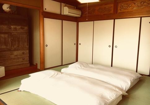 和室+テラス+室外プライベートシャワートイレ付 1名〜5名様