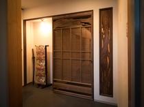 客室廊下装飾