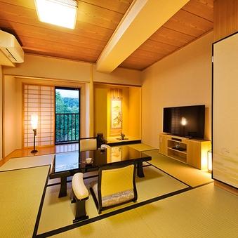 ■日本庭園側■ 和室41平米(3名定員)