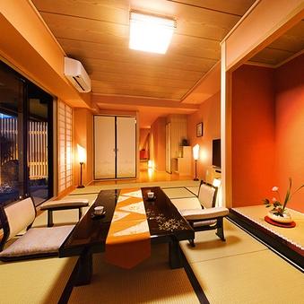 ■モダン石庭付■ 和室42平米(4名定員)<日本庭園側>