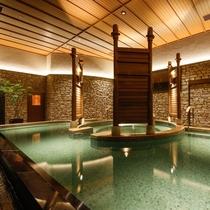 森のSPA「響-HIBIKI-」2020年7月リニューアル~肩まで浸かる深湯を設けた温泉大浴場