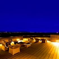 屋上ステラテラス夜の景色