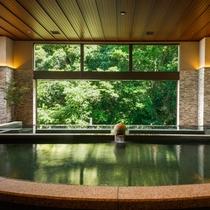 森のSPA「泉-IZUMI-」2020年7月リニューアル~寝湯を備え森林浴気分を愉しむ温泉大浴場