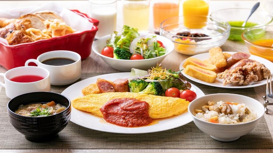 博多銘菓【五十二萬石 如水庵】のお菓子付!【シェフ拘りの朝食付】