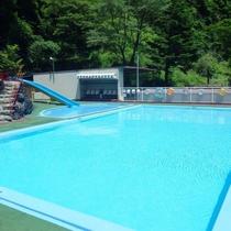 温泉プール(夏期限定)