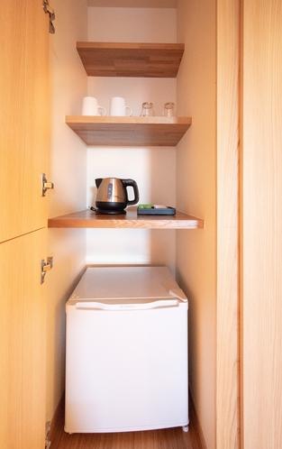 スーペリアルーム冷蔵庫