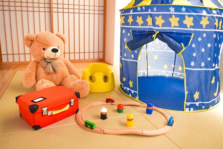 キッズテント&おもちゃ