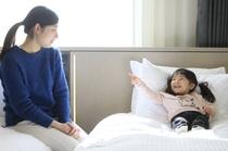 お部屋(ファミリーイメージ)   ※ベッド1台につき、小学生以下のお子様1名様添い寝無料