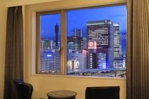 お部屋からの眺め:夜景(そごう側)