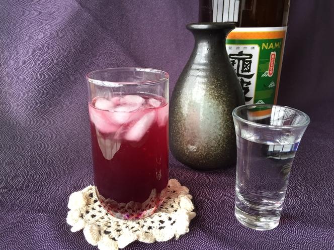 山葡萄ジュースと乗鞍高原のお酒