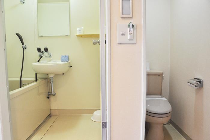 全客室内バス・トイレ(別々設置)