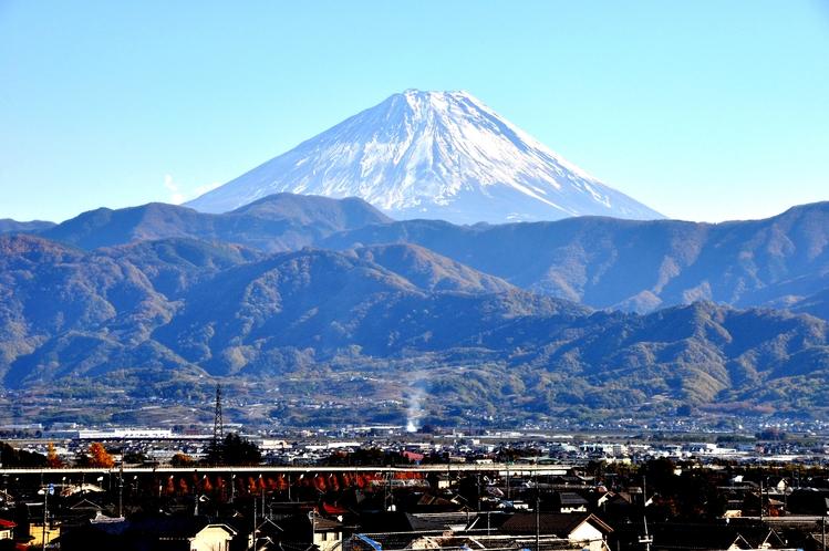 富士山(世界遺産)ホテルより眺望