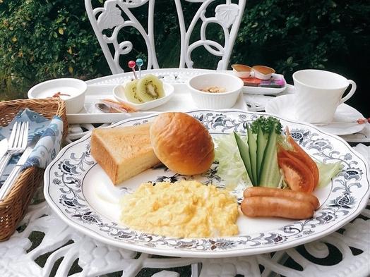 【一泊朝食付き】全五棟の離れで贅沢な時間を・・・隣接のカフェでの朝食付きプラン