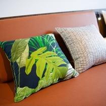 客室例:ECO_LUXURY_をテーマにリラックス空間をご提供いたします。