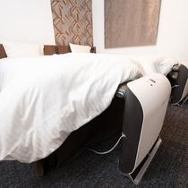 TVで話題となった、ふとんコンディショナー「ふとコン」が設置されているベッドで快適な睡眠を♪