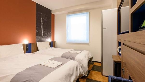 「3〜4名様向け」LGスタイラーツイン2室 隣部屋確約・禁煙