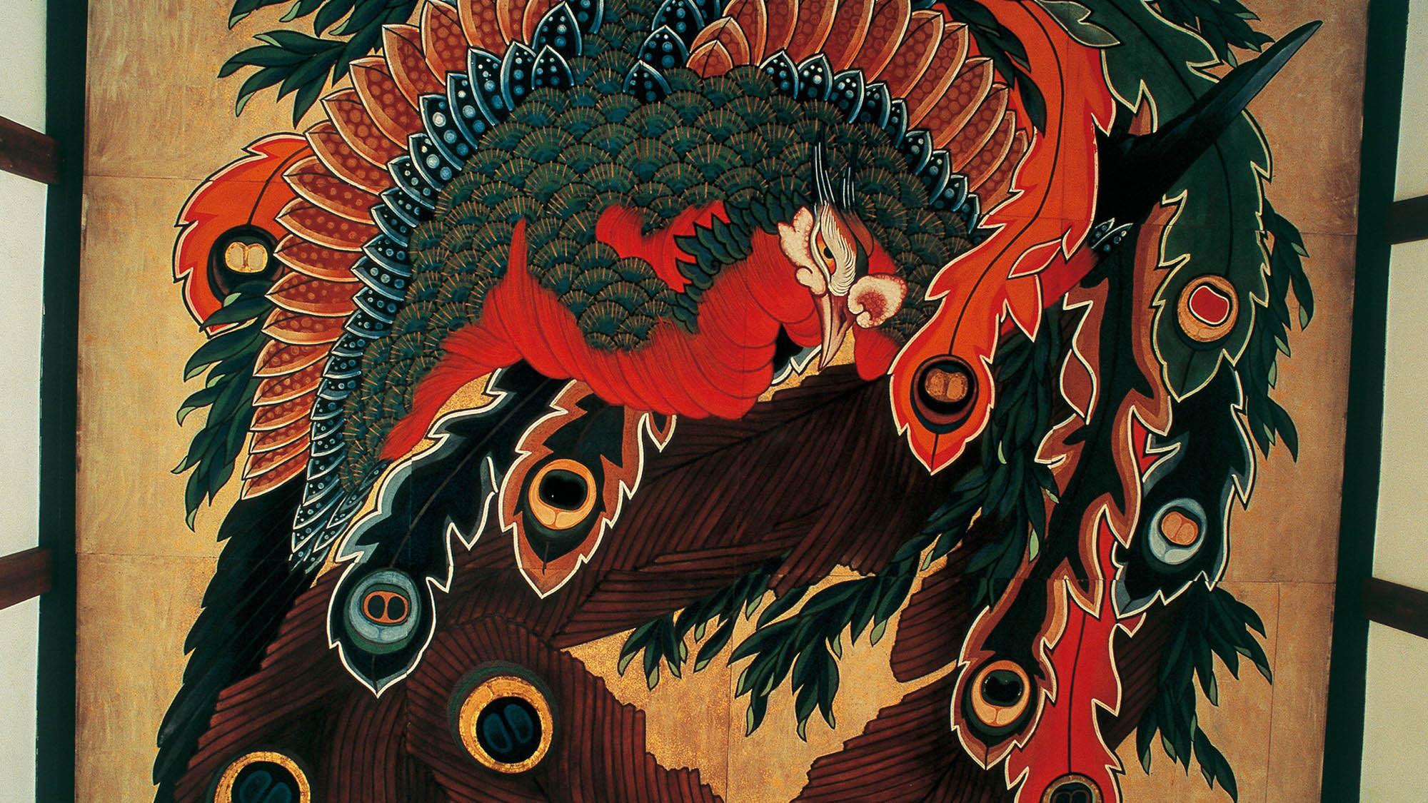 小布施町・岩松院の八方睨み鳳凰図(写真提供:長野県観光機構)