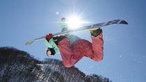 *【周辺観光_Hakuba47】スキー・スノーボーダーに愛されている日本最大規模のスノーパークです。