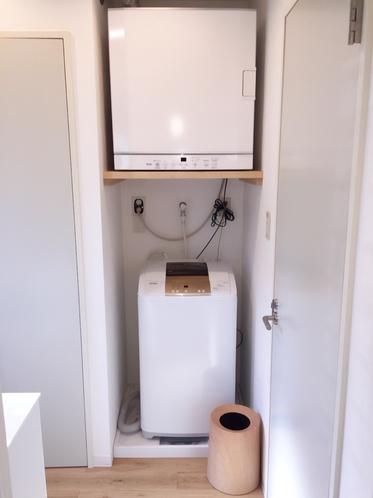 洗濯機、乾燥機も洗剤、柔軟剤も無料でお使い頂けます