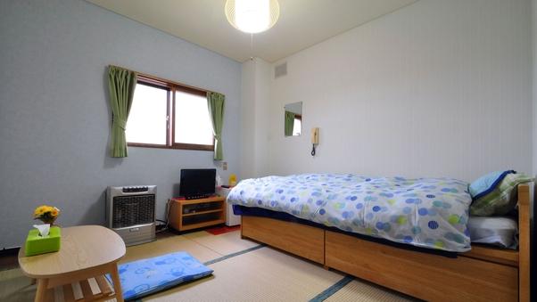 和室5〜6畳・ベッド付(バス無・トイレ無・冷房無)