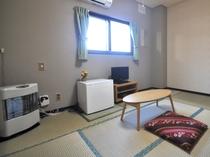 【和室6畳】バス付・トイレ付のお部屋です