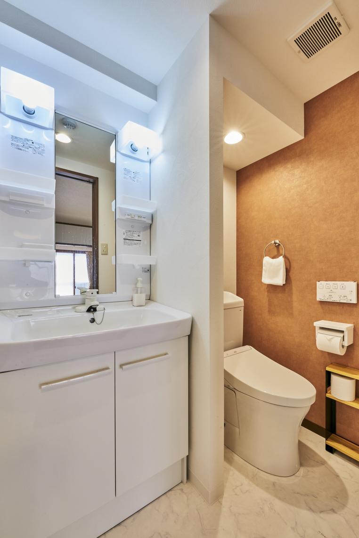 ファミリールーム 専用洗面所・トイレ