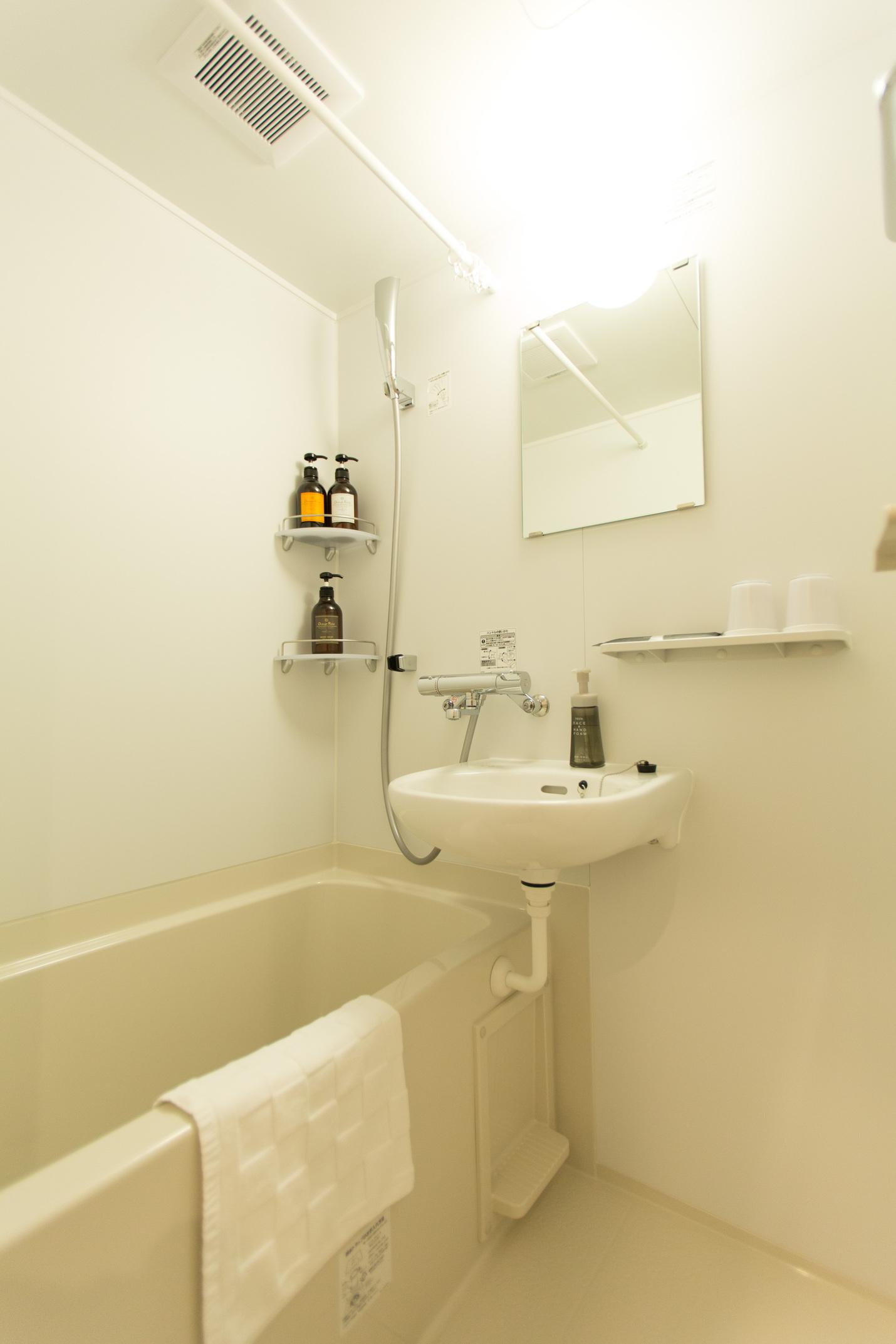 ツイン・クイーンルーム 浴室・洗面