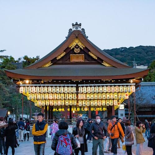 八坂神社(徒歩11分)