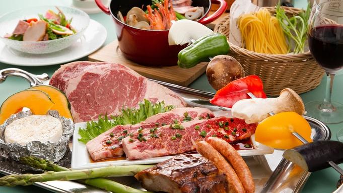 【タケノコテント】BBQスタンダード<リブロースステーキ付>海辺でバーベキューグランピング