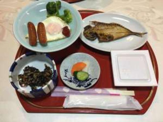新規でご宿泊のお客様のご朝食