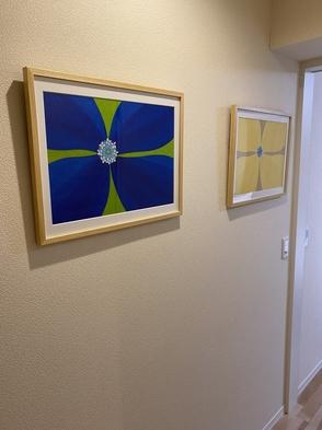 ★【アート旅応援!】★美術館では味わえないアートに囲まれた日常を。宿泊がアーティストへの支援に。