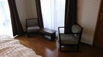 寝室 Deluxe ツインルーム