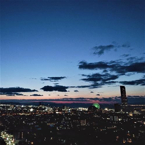 客室からの夜景(イメージ)