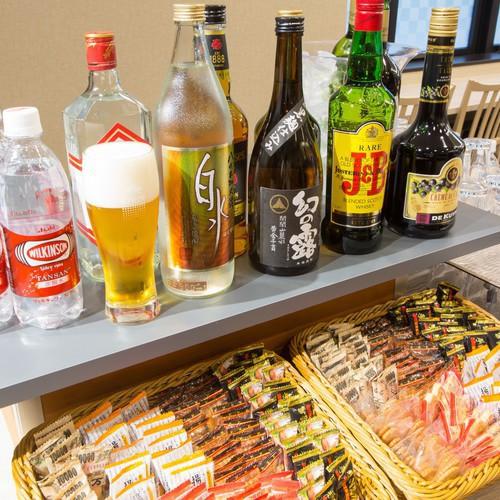 ハッピーアワー☆生ビールもあります!(ご利用時間/17:00〜21:00)