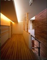 2階の客室ホール